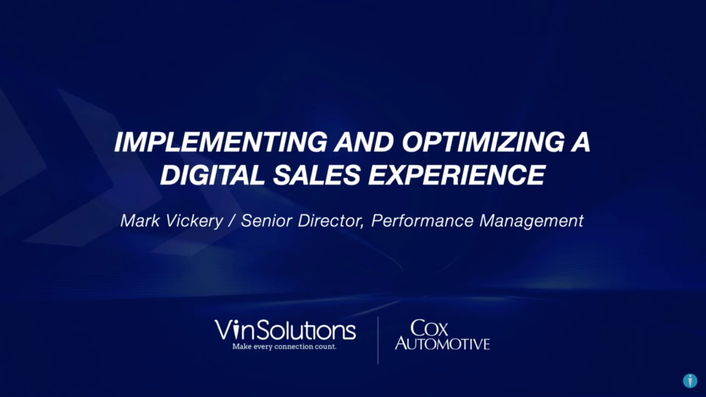 How to Implement and Optimize a Digital Sales Experience